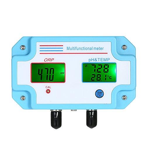 Fachmann 3 in 1 pH- / ORP- / TEMP-Meter-Wasser-Detektor Multiparameter Digital-LCD Tri-Meter Multifunktionswasser-Qualitäts-Monitor Multiparameter-Wasser-Qualitätsprüfer