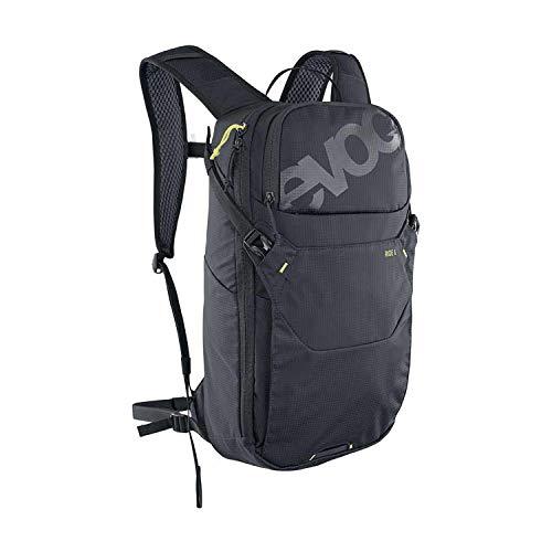 EVOC Ride 8 + tasca, 2 l, nero, zaino per mountain bike, senza protezione, per adulti, unisex, 10