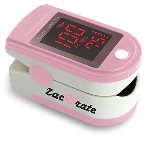 Zacurate Pro Series 500DL Fingertip Pulse Oximeter and Blood Oxygen Saturation...
