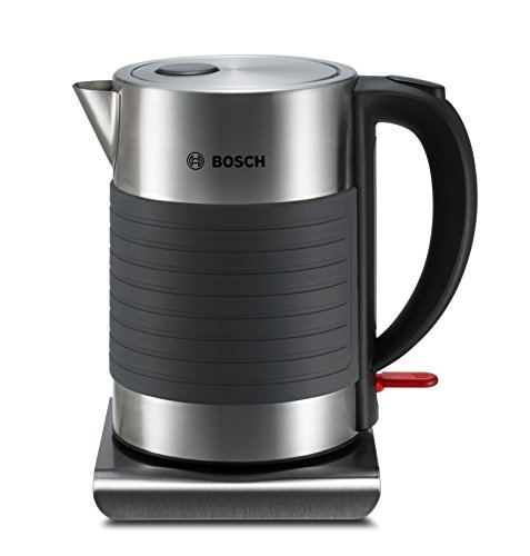 Bosch TWK7S05GB Silicone Kettle, Stainless Steel