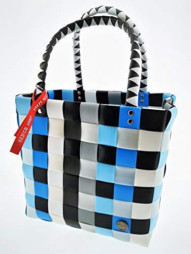Witzgall Ice Bag Einkaufskorb Einkaufstasche Shopper Einkauf-Korb Flecht-Korb geflochten Einkaufsshopper