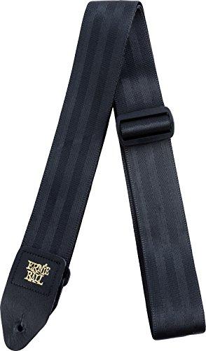Ernie Ball 2'correa de cinturón Correa de cinturón - Negro