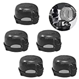 Haojie Children Gas knob Protection Cover, Kitchen Stove knob Cover Five Pieces, Large Universal Design, to Protect The Safety of Children.