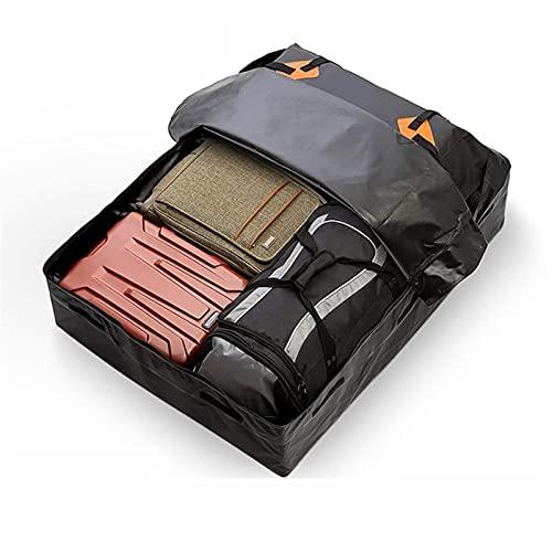 HJUIK Bolsa de transporte de carga para techo de coche, gran capacidad, para el techo, adecuado para vehículos (color negro, tamaño: mediano)