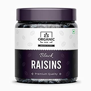 Organic Box Premium Afghani Seedless Black Raisins