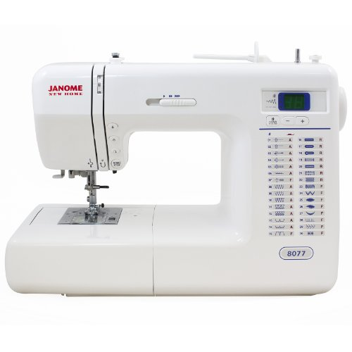 Janome 8077 Computerized Sewing Machine with 30 Built-in...
