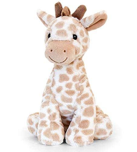 Keel Toys SN2653 26cm Nursery-Snuggle Giraffe Natural, Cream, Brown