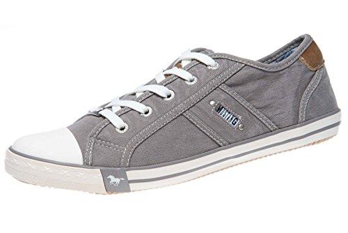 MUSTANG Damen 1099-302 Sneaker, Grau (Silbergrau 932), 39 EU