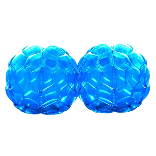 GoBroBrand Bubble Bumper Balls 2 pack of Inflatable Buddy hamster Bbop Ball set - Used also as Giga...