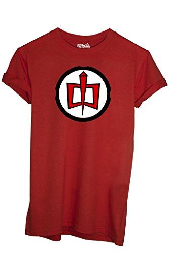 MUSH T-Shirt Ralph Super Maxi Eroe-Film by Dress Your Style - Uomo-L-Rossa