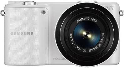 Samsung NX2000 Mirrorless Digital Camera with 20-50mm f/3.5-5.6 Lens (White) (International Model)