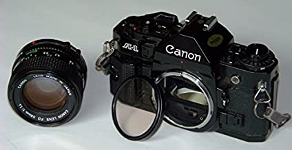 Canon A-1 A1 Film Camera with 50mm Lens
