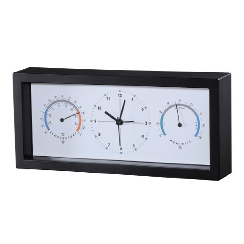 Hama Thermo-/Hygrometer TH33-A, Schwarz