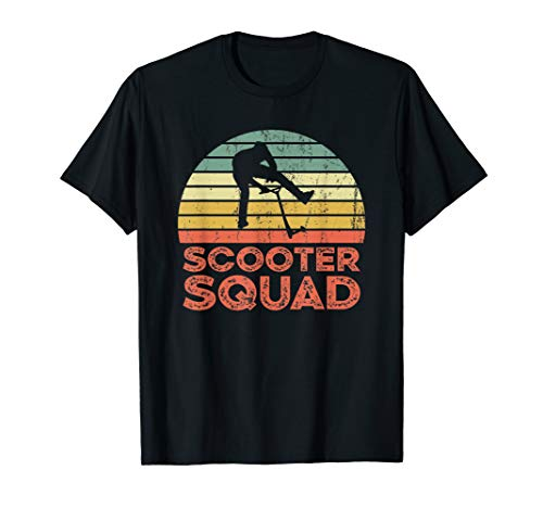 Scooter squad - E-Scooter Roller Fahrer T-Shirt