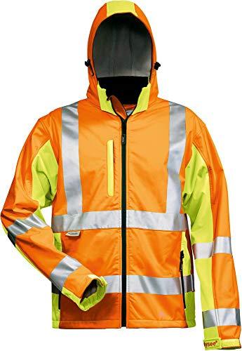 Elysee Warnschutz Softshelljacke HOSS, EN 20471 Klasse 3, für Beruf und Freizeit (XXL)