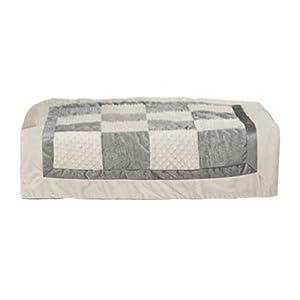 bkb Crocodile Minky Patchwork Toddler Comforter