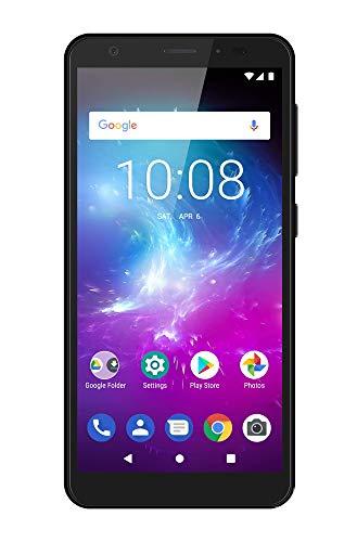ZTE Blade A5 2019 - Smartphone de 5,5' HD+ 18:9 (Octa-Core A55, 2GB RAM + 16GB ROM, Cámara de 13 Mpx, doble SIM, Android 9 Go), Color Negro [versión española]