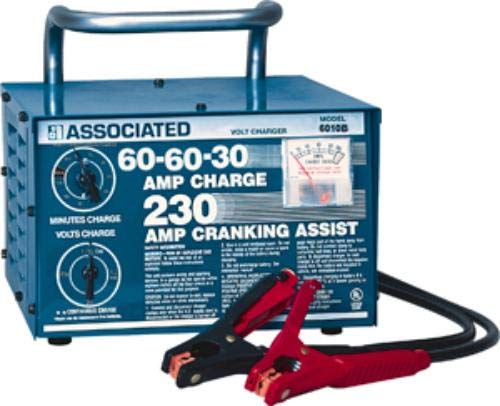 Associated Equipment ASO-6010B Heavy Duty Commercial Portable Battery Charger