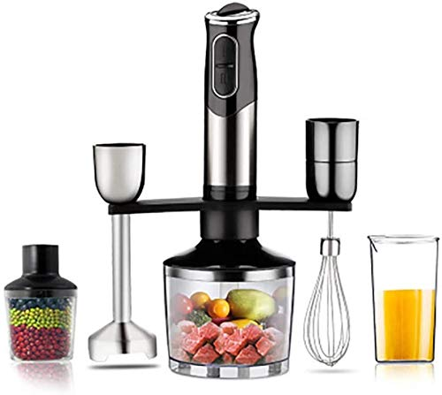DALIBAI Set Of Hand Blender Mixers And Food Processor/beaker, 600 W, Black