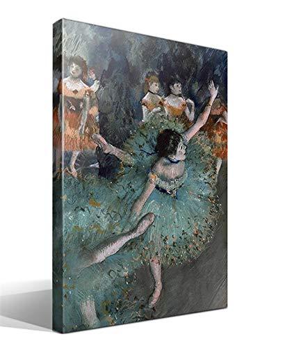 Cuadro Canvas Bailarina en balanceo de Edgar Degas