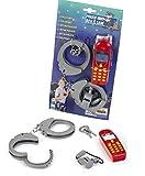 Theo Klein-8860 Police unit ben & sam set de policía, 3 piezas, juguete, Multicolor (8860)