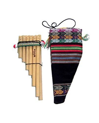 ALP acaandmore handgefertigte perua técnicos Natural bambú Zampoña 13Tubes