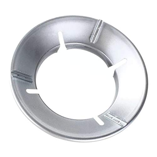 Cabilock Wok-Gestell Eisen Gasherd Wok-Stützring Wok-Ständer Energiesparende Kochfeld-Herdpfanne Gasabdeckung für Hausrestaurant (Silber)
