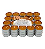 Lumar Aromatic Velas de té aromáticas (Canela en Rama Pack 60 Velas)