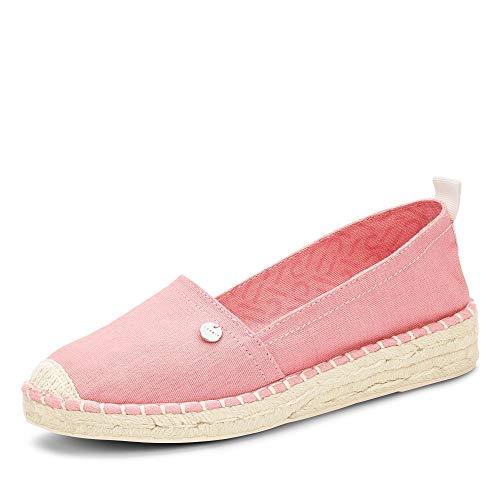 ESPRIT 040EK1W333 670 INES Basic Slip Damen modischer Espadrilles aus Textil, Groesse 39, pink