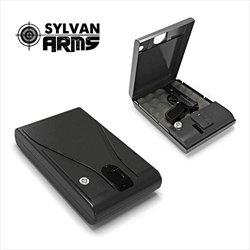 Sylvan Arms Fingerprint Vault Biometric Handgun Gun Pistol Jewelry Safe