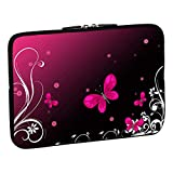 Pedea Design Schutzhülle Notebook Tasche (15,6 Zoll, Butterfly)