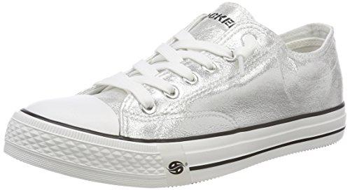 Dockers by Gerli Unisex-Kinder 38AY662 Sneaker, Silber (Silber 550), 37 EU