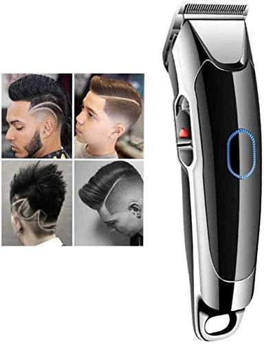 YBHNB Professionelle Haarschneidemaschine Für Herren Friseur-Werkzeugset, Wasserdichtes, Kabelloses, Wiederaufladbares, Kahles Rasiermesser-Haarrasierer-Körperpflege-Kit