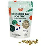 West Paw All-Natural Raw Freeze-Dried Dog Treats – Farm-Fresh Duck Training Treats for Dogs with Fiber, Beta Carotene, Vitamins A, E, C – Wholesome Canine Treat for Puppies, Senior Dogs – 2.5 Oz.