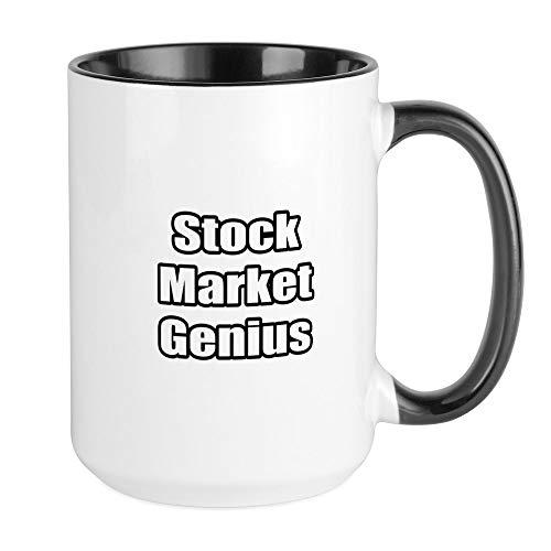 CafePress Stock Market Genius Large Mug Coffee Mug