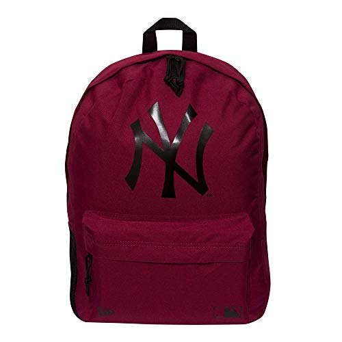 NEW ERA MLB Stadium Mochila, Adultos Unisex, Burdeos, Talla