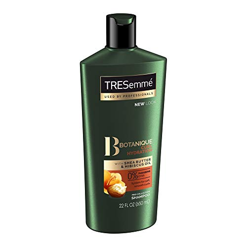 TRESemmé Botanique Shampoo, Curl Hydration, 22 oz (Pack of 4)