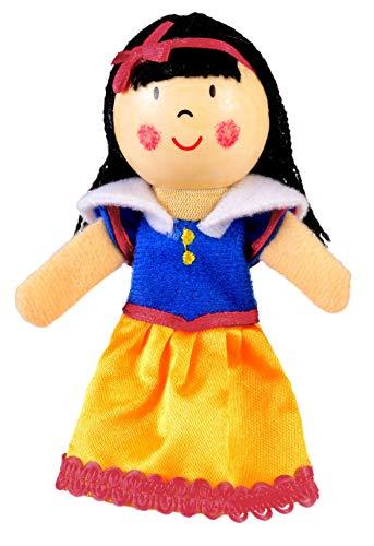 Fiesta Crafts TGO Marionnettes à doigt Motif Blanche Neige-Marionnette de doigt en acier