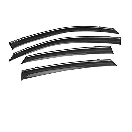 , Voor Auto ABS Styling Venster Zonnekleppen Luifels Schuilplaatsen Regen, Voor Skoda Octavia 2014 2015 2016 2017 2018 Accessoires