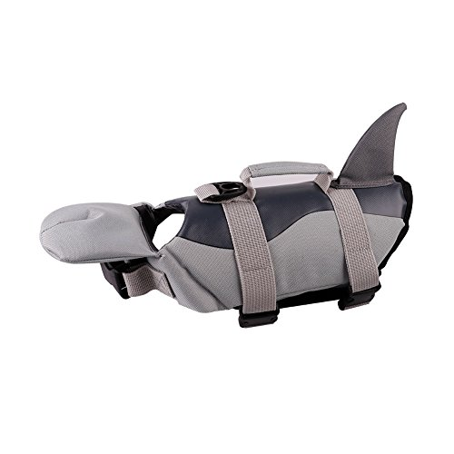 PETCEE Small Dog Life Jacket with Buoyancy and Rescue Handle Dog Life Vest for Small Dogs Swimming