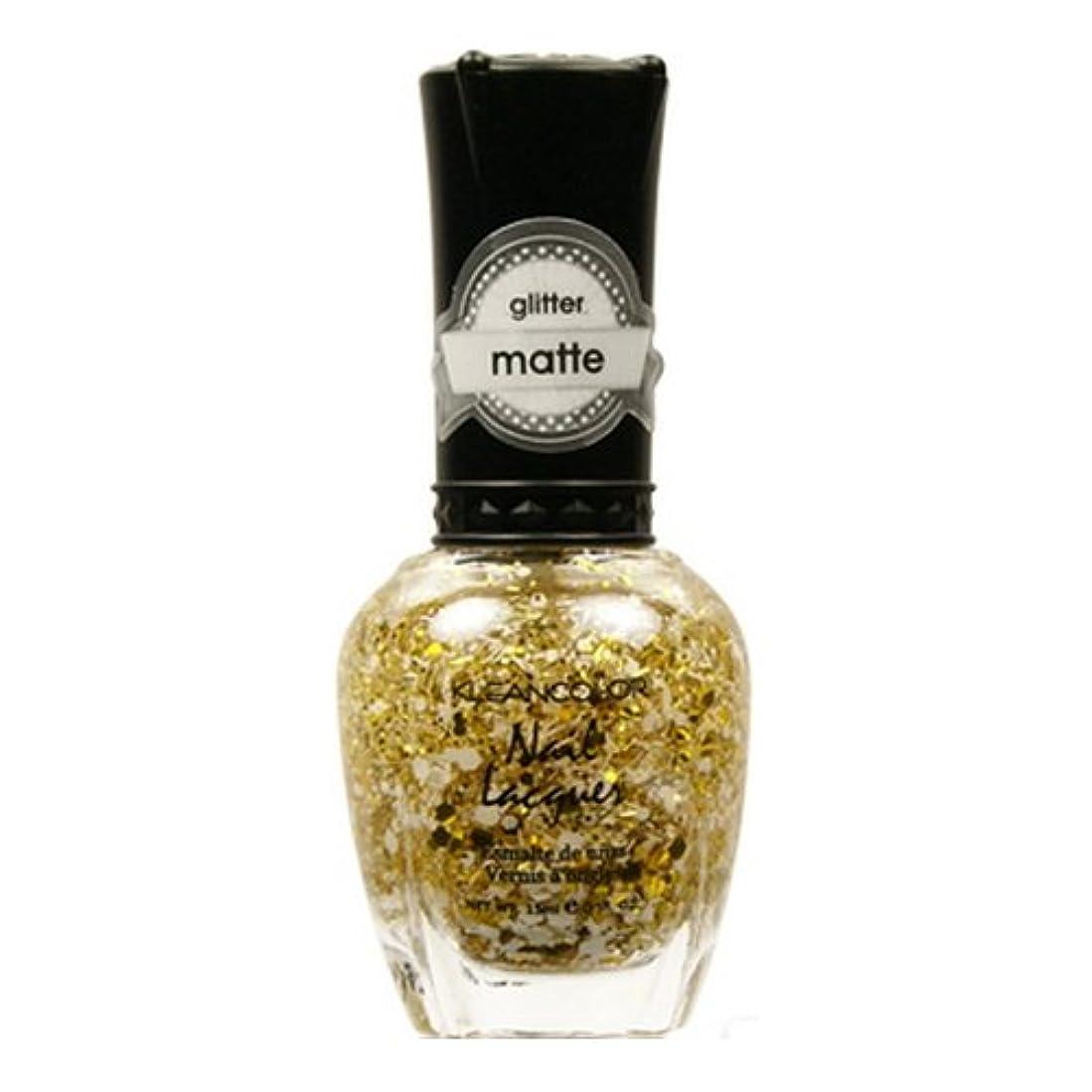 お勧め私たち自身ボス(6 Pack) KLEANCOLOR Glitter Matte Nail Lacquer - Everyday is My Birthday (並行輸入品)