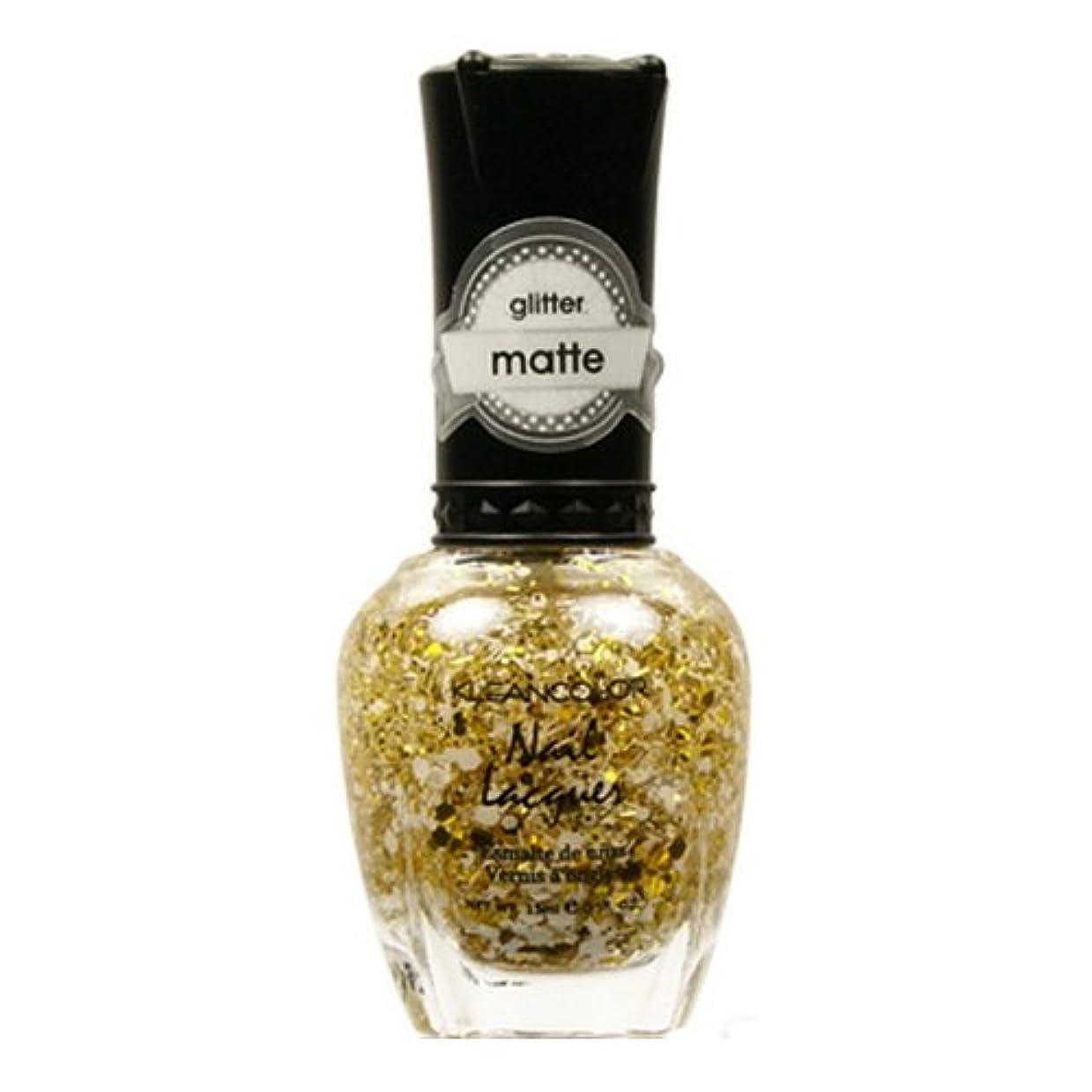 魔女保育園合併症KLEANCOLOR Glitter Matte Nail Lacquer - Everyday is My Birthday (並行輸入品)
