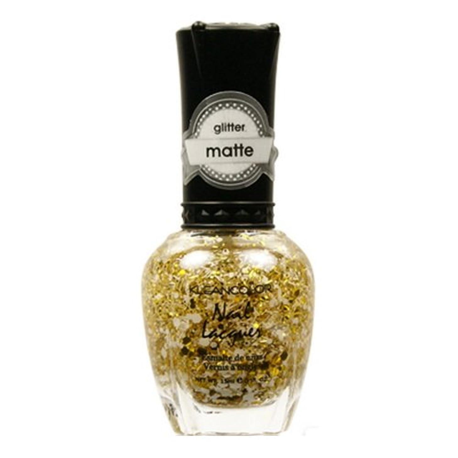 サドル青写真行政(3 Pack) KLEANCOLOR Glitter Matte Nail Lacquer - Everyday is My Birthday (並行輸入品)