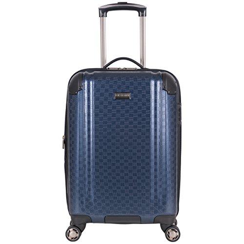 Ben Sherman Carlisle 20' Hardside Expandable 8-Wheel Spinner Carry-on Luggage, Navy