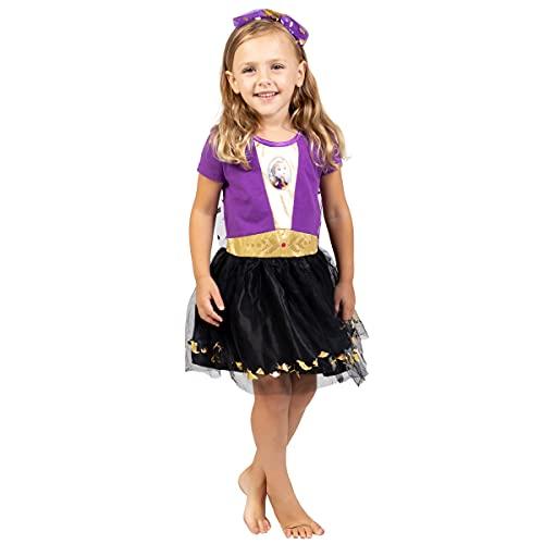 Disney Frozen Elsa Anna Toddler Girls Costume Dress Gown & Headband Set 3T