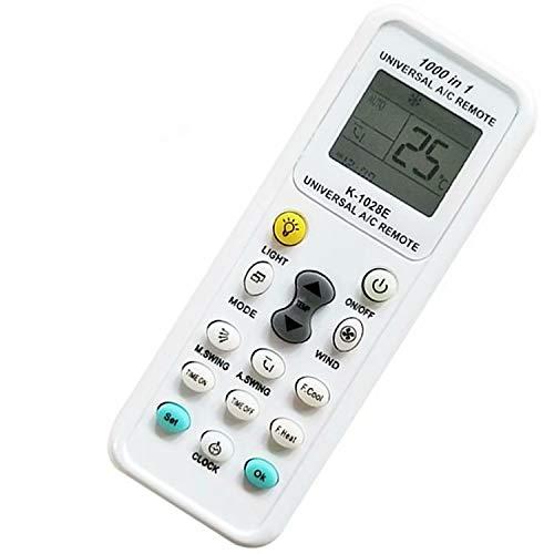 ZheJia Común para 1000 empresas compatibles Control remoto universal También equipado con función de búsqueda automática control remoto para aires acondicionados 1 pcs