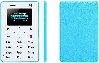 جوال بحجم بطاقة الصراف الالي M5 mini phone mobile AEKU