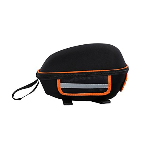 Lanceasy Bike Rear Bicycle Shelf Utility and Durable Hard Shell Riding Cycling Seat Cargo Bag Supplies