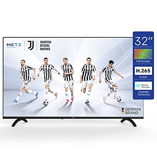 Metz TV Serie MTB2000Z, LED, HD 1366x768, 32' (81 cm), HDMI, ARC, USB, Slot CI+, Dolby Digital, DVB-C/T2/S2, HEVC MAIN10, Nero
