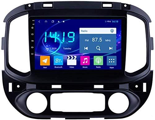 AEBDF Android 9.1 Navegación estéreo para automóvil para Chevrolet Colorado 2015-2017,9 Pulgadas Sat Nav Pantalla táctil Bluetooth Player Multimedia,8Core WiFi+4G 4+64 DSP+Carplay